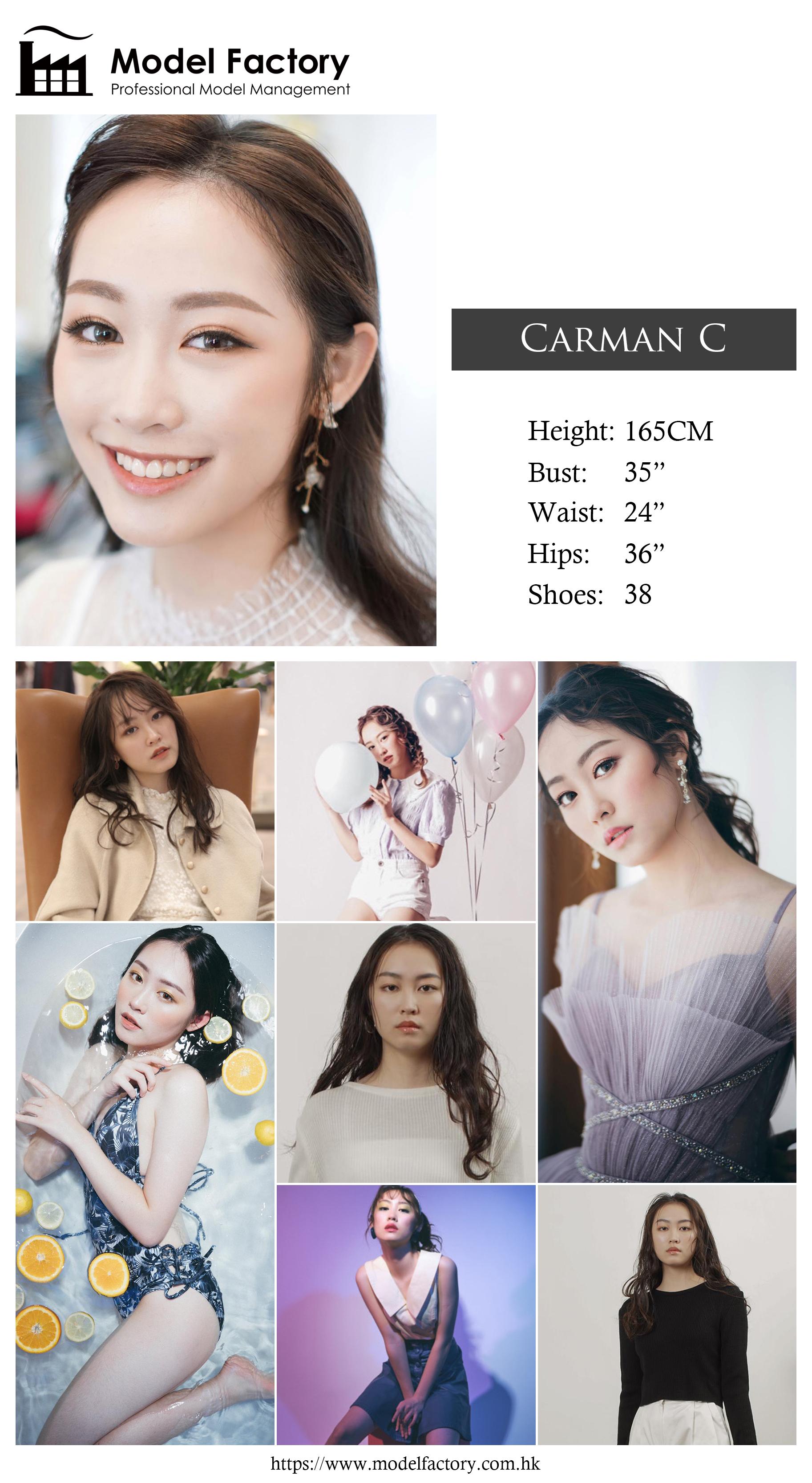 model agency hk Carman C
