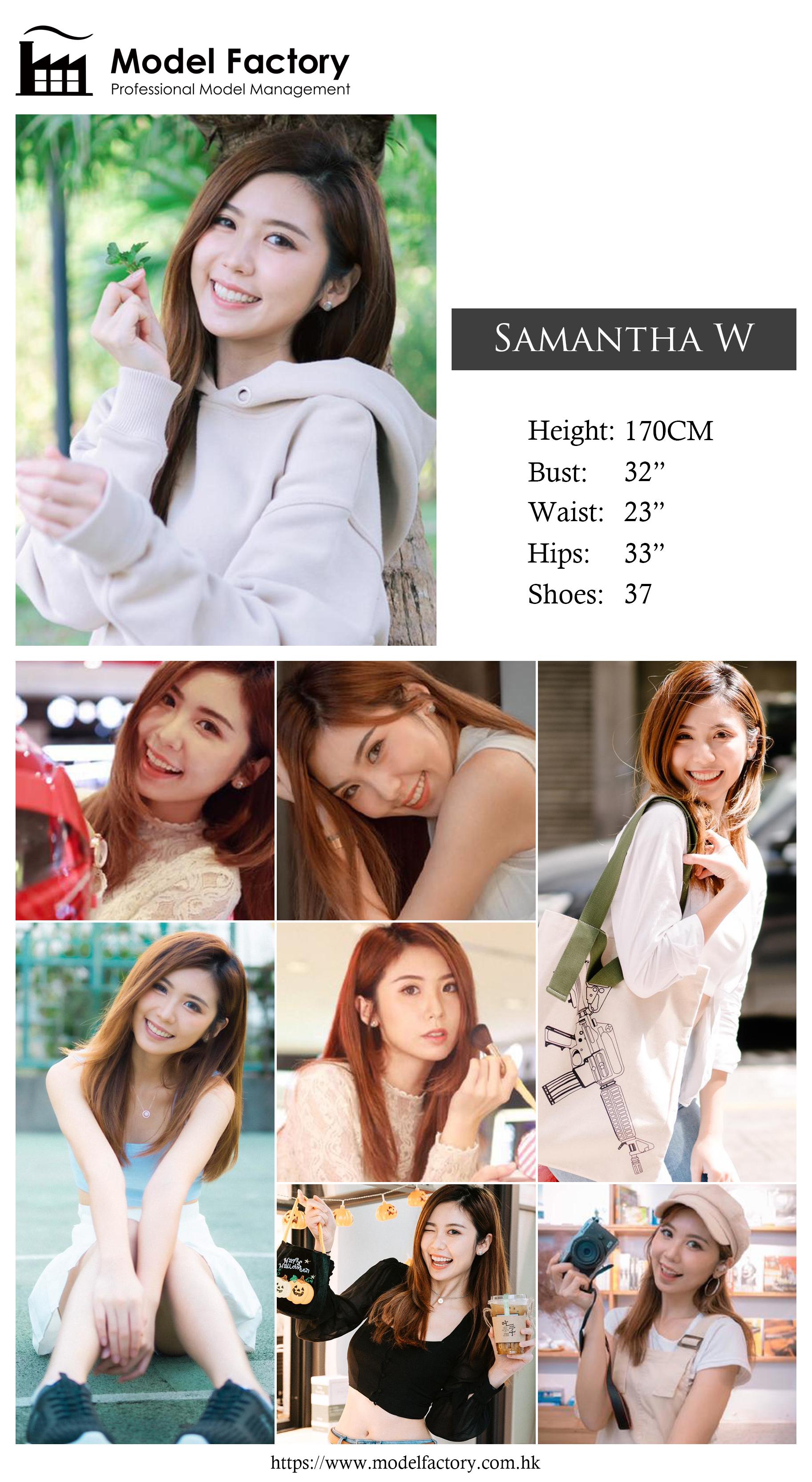 model agency hk Samantha W