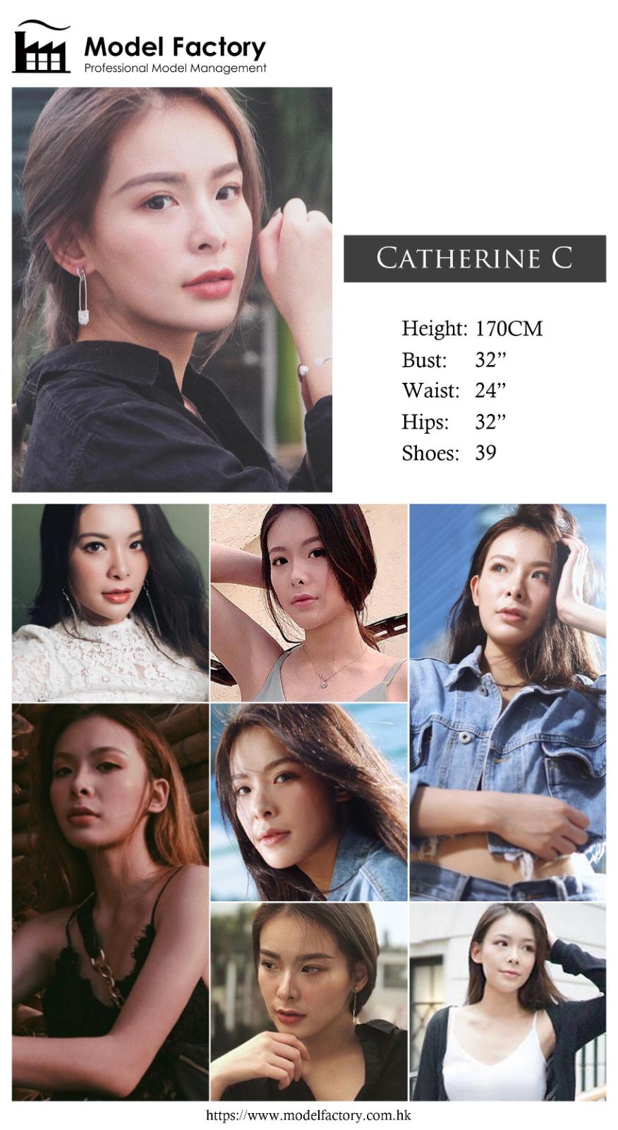 model agency hk catherine