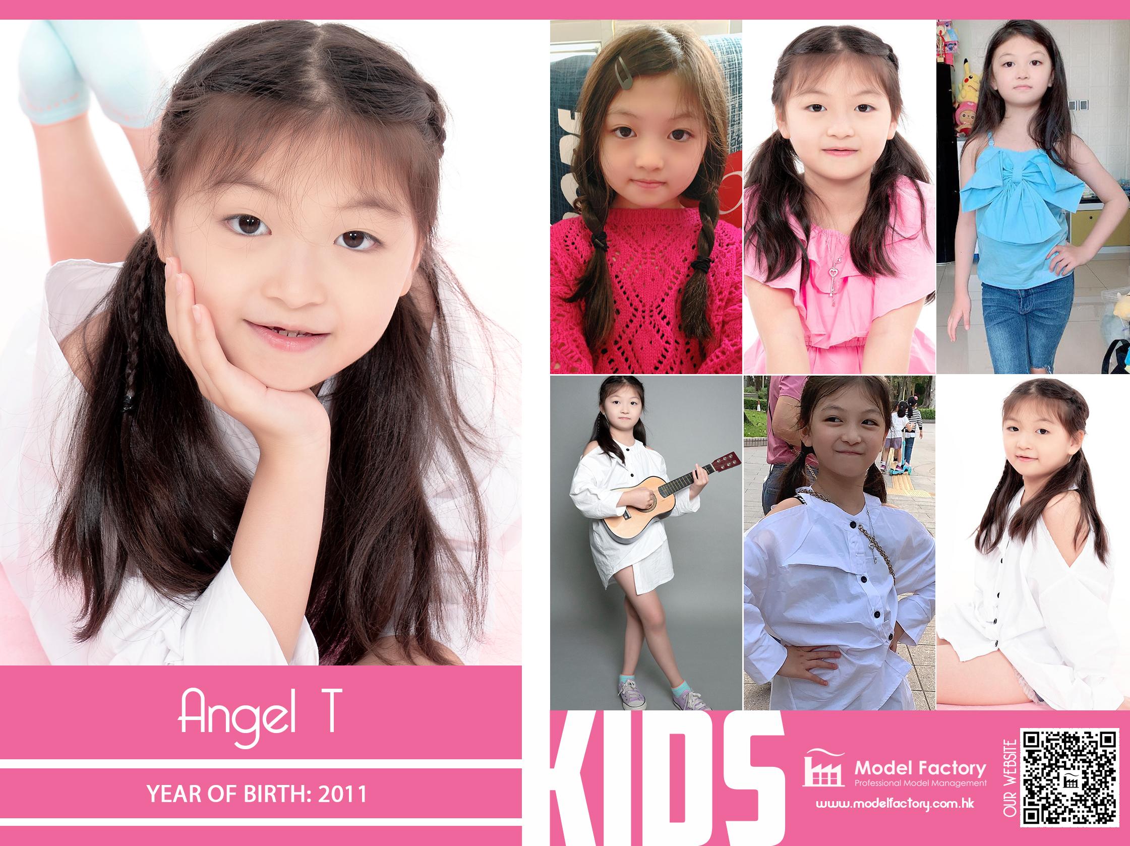 Model Factory Local Kids Model Angel T